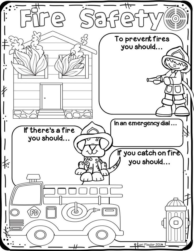 This poster is perfect for you study of fire safety