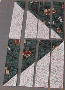 Great tutorial. CLICK onto the site for this one to see all the patters with this one technique. Quiltvilles Quips & Snips!!: