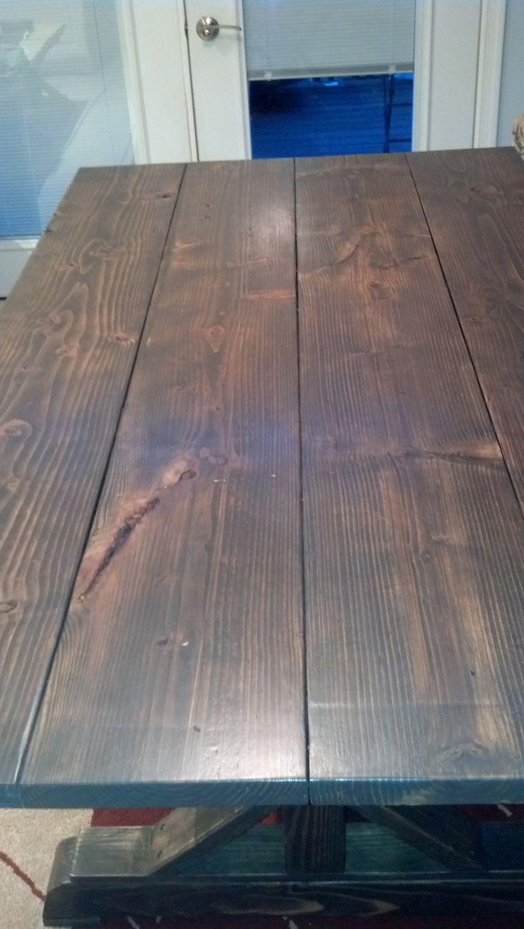 Dark Walnut Classic Grey Minwax Stain Equal Parts Hardwood Floors Pinterest Stains