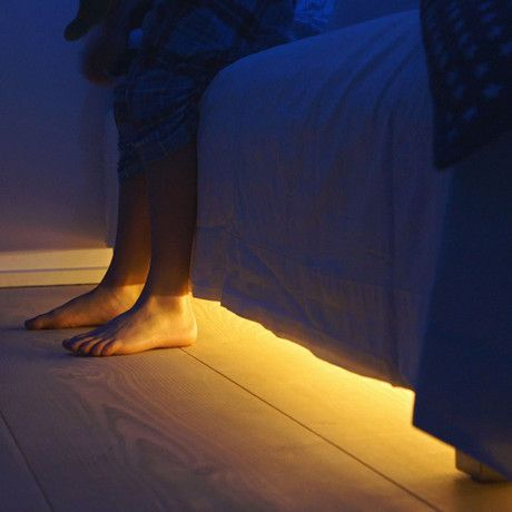 Motion Sensor Led Light With Auto Shut Off For Under The Bed No