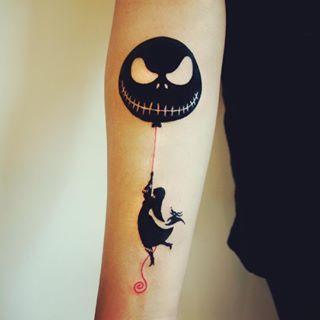 Nothing really beats a Tim Banksy tattoo.   27 Stunning Reasons To Get A Tim Burton Tattoo