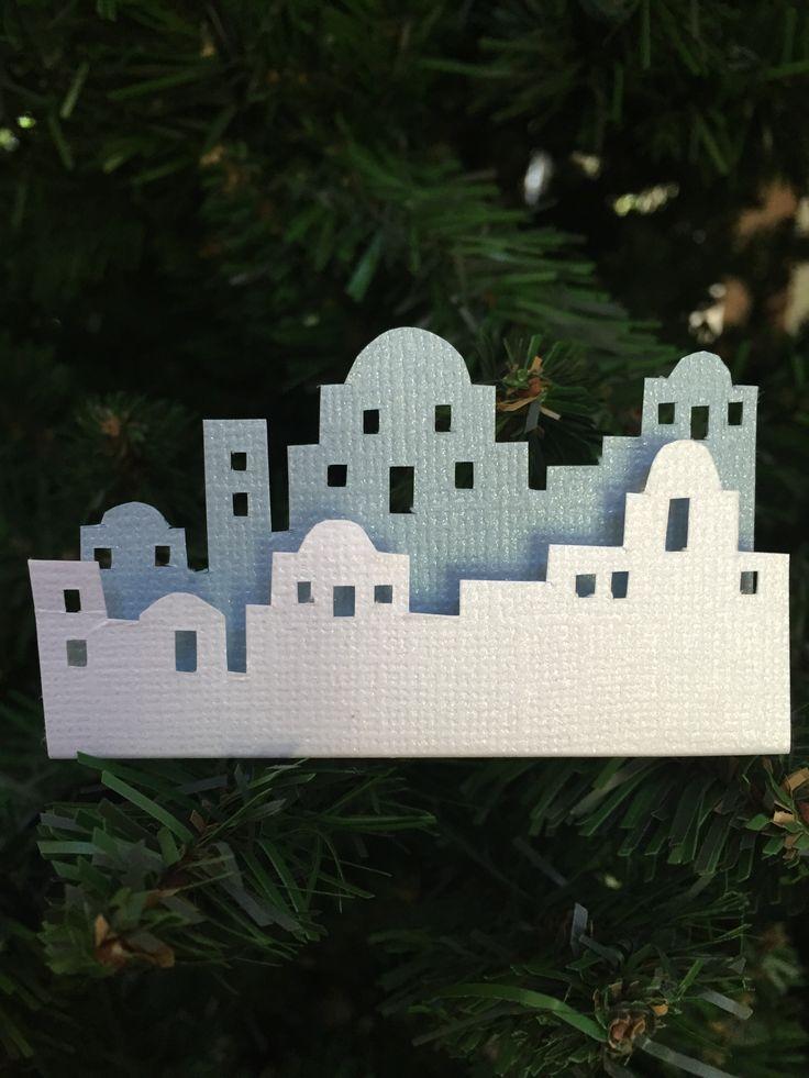 Skyline Bethlehem White Amp Light Blue Cardstock Foam