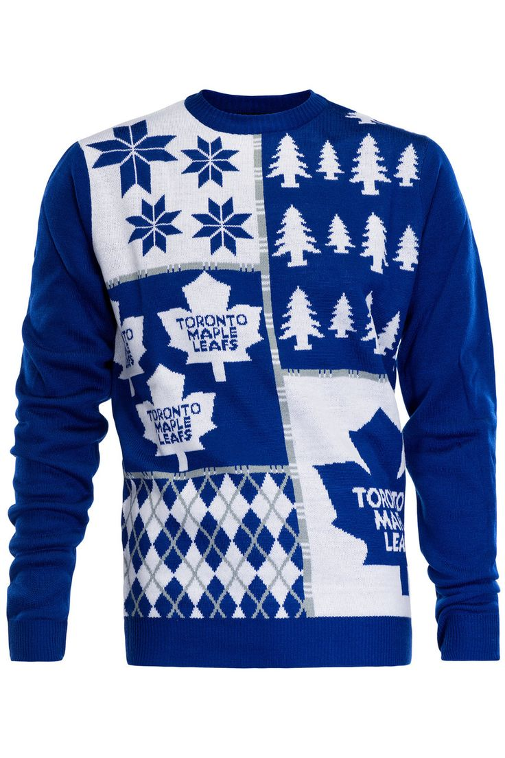 Toronto Maple Leafs Ugly Christmas Sweater NHL 2016 Design
