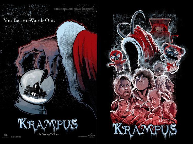 KRAMPUS MOVIE CARD HOLIDAY DESIGN Design Contest