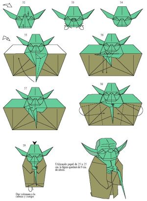 origami yoda instructions 5 (you must see the whole pages