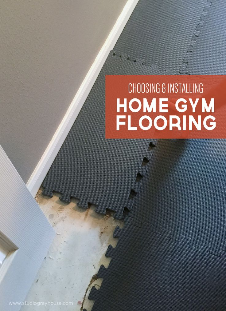 Choosing the Right Home Gym Floor Mats Home, 8 week