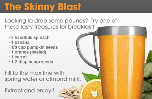 The Skinny Blast NutriBullet Recipe