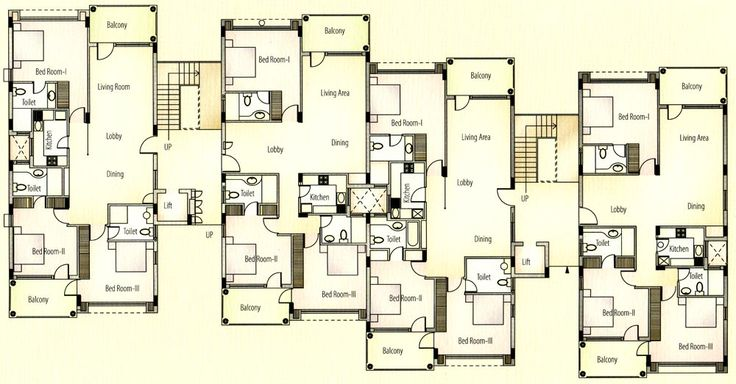 Apartments Typical Floor Plan