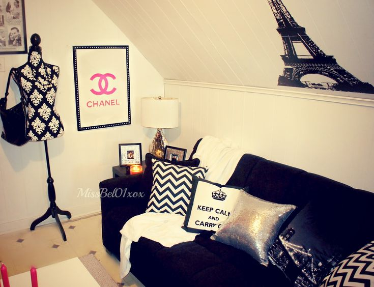 Chanel Themed Bedroom | …