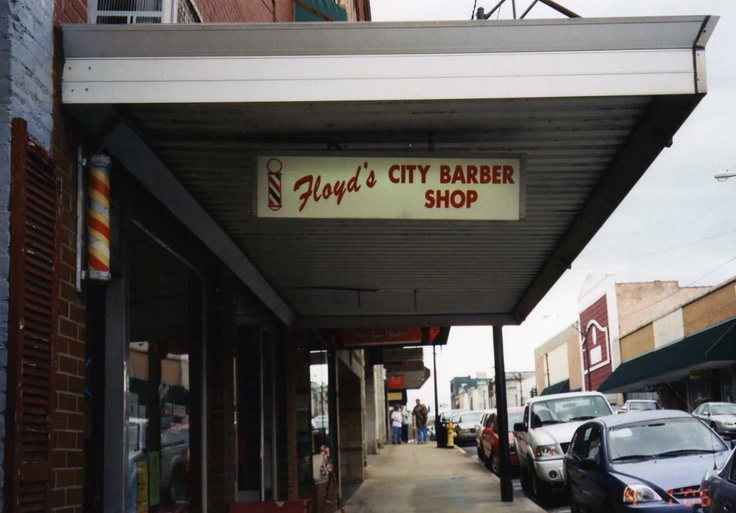 Floyd's Barber Shop in Mt. Airy, NC. Mt. Airy, NC