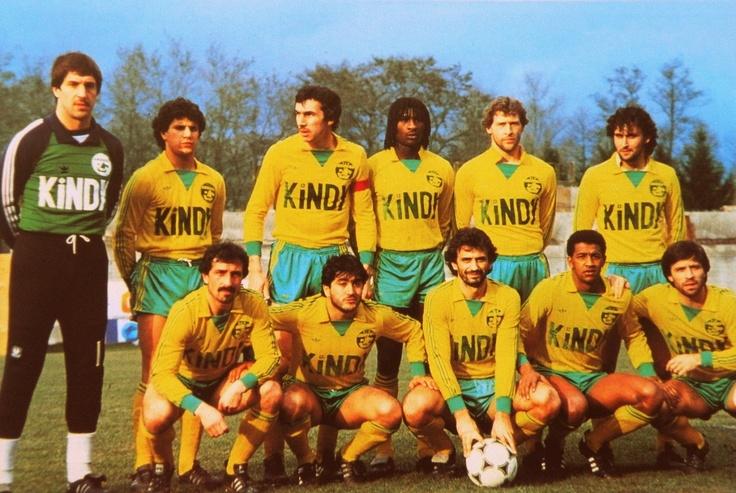 F.C NANTES 198283. The Vintage Football Club Posters