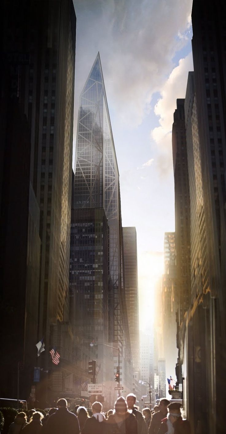 Future New York. The proposed MoMA Expansion Tower. 53