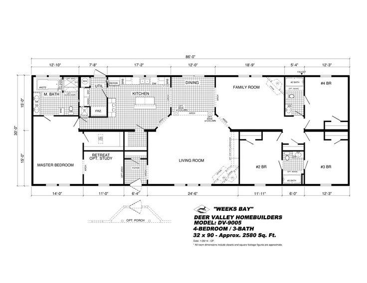 DV-9005 Weeks Bay - Deer Valley Homebuilders