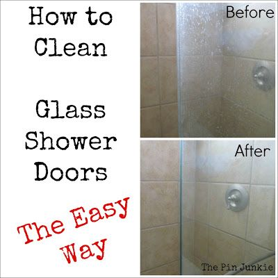 Image Result For Cleaning Glshower Doors With Vinegar And Dawn
