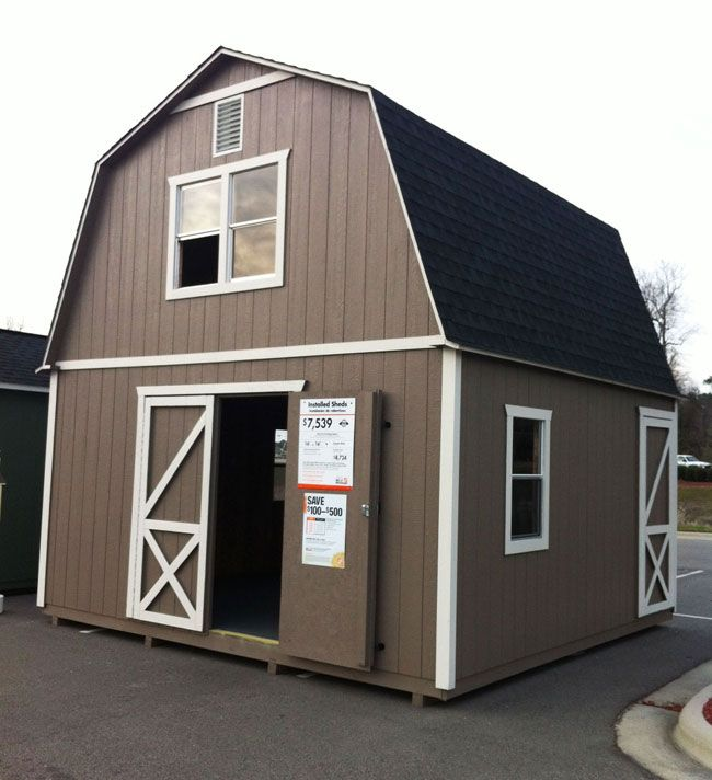 Tiny house from Home Depot.