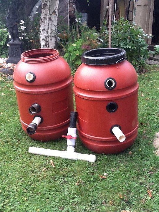 Need help/ideas on sand gravel filter please Koi Pond
