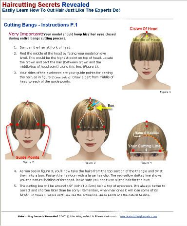 bangs fringes and cut bangs on pinterest