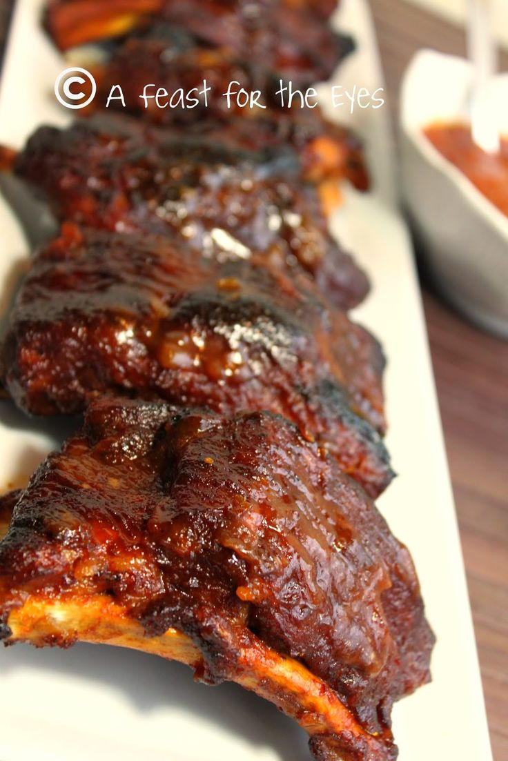 A Feast for the Eyes: Barbecued Baby Back Ribs – 15 minutes (Pressure Cooker Style)