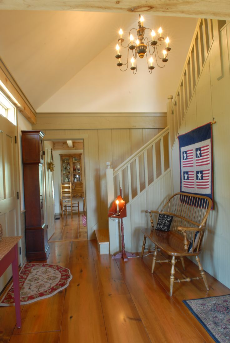 Entry Wwwearlynewenglandhomescom Interiors Pinterest