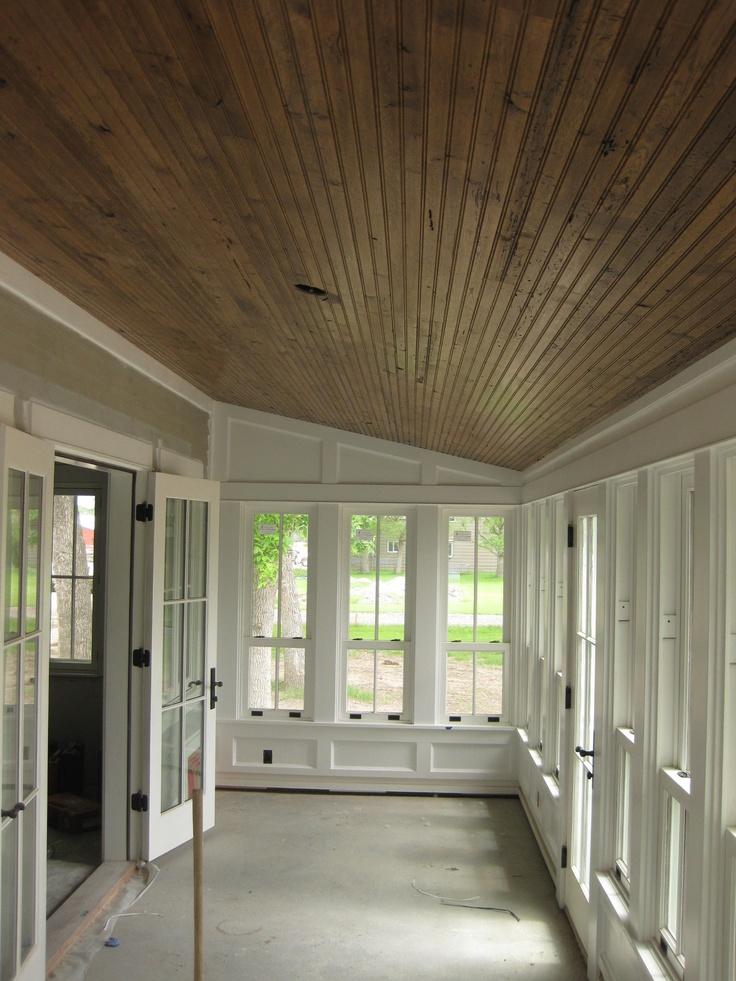 Resawn White Oak Beadboard, Montana Reclaimed Lumber Co