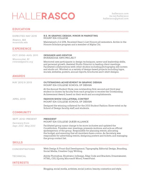 resume templates on pinterest resume resume design and resume