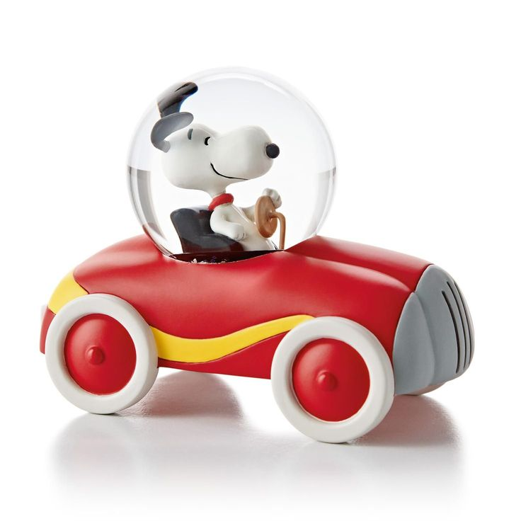 Miniature Snoopy Car Water Globe Cars Miniature And Home