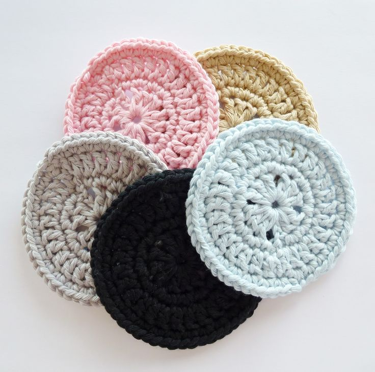 Crochet Coasters by Risa Culpepper