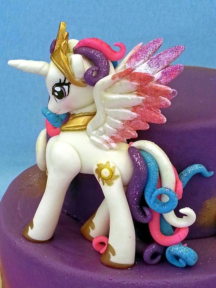 Princess celestia cake topper Natalia's 6th Bday cake