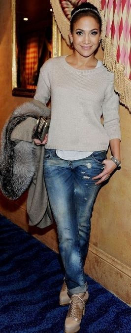 Jeans – Balmain Shoes – Christian Dior Rings – Brumani Same shoes in black Similar style sweater