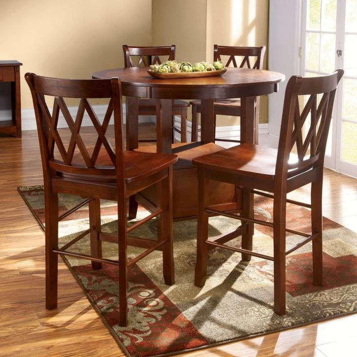High Top Kitchen Table Set Furniture Tables Round
