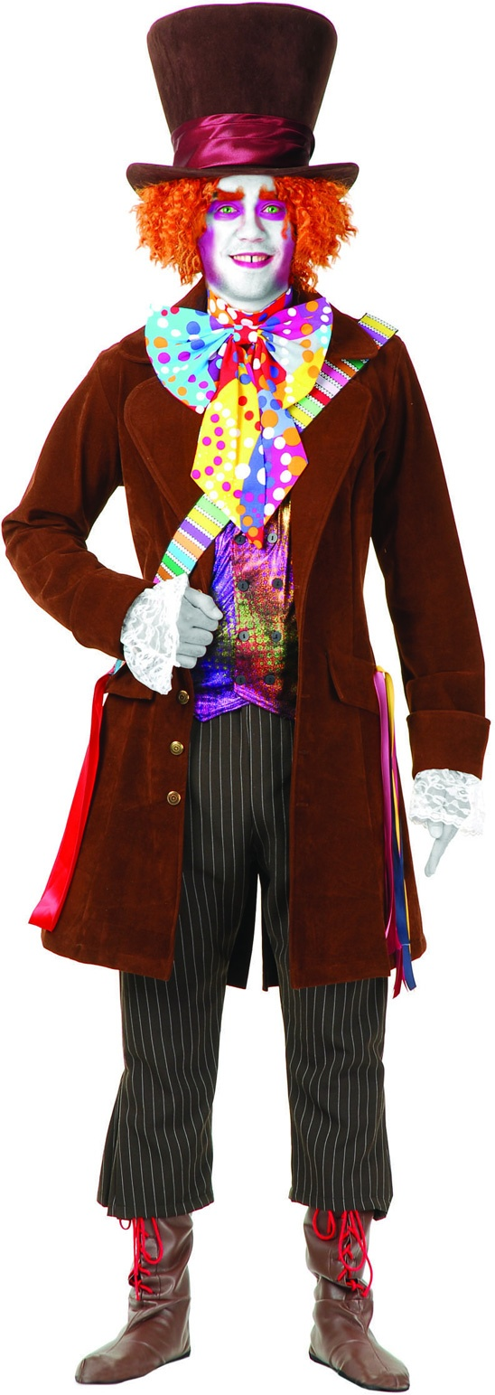 Electric Mad Hatter Costume Alice in Wonderland Costumes