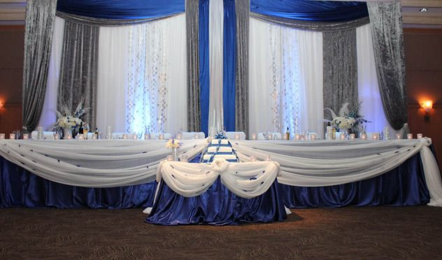Blue And White Wedding Decorations Wedding Ideas White