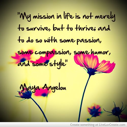 Maya Angelou Quote Picture by Rhon – Inspiring Photo