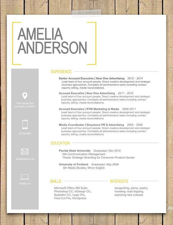1000 ideas about best resume format on pinterest resume format