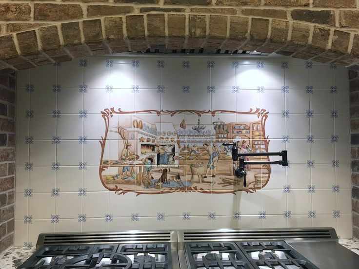 17 Best Images About Hand Painted Tiles, Tile Murals