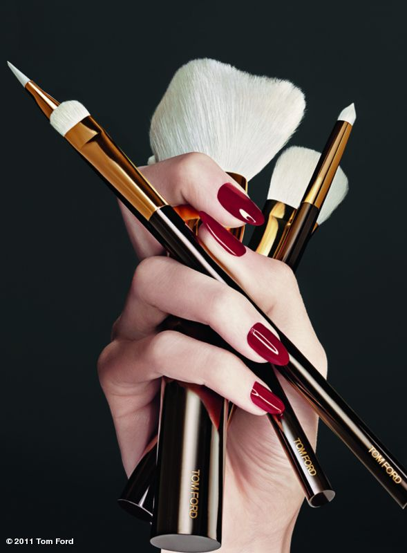 Tom Ford Makeup brushes. In