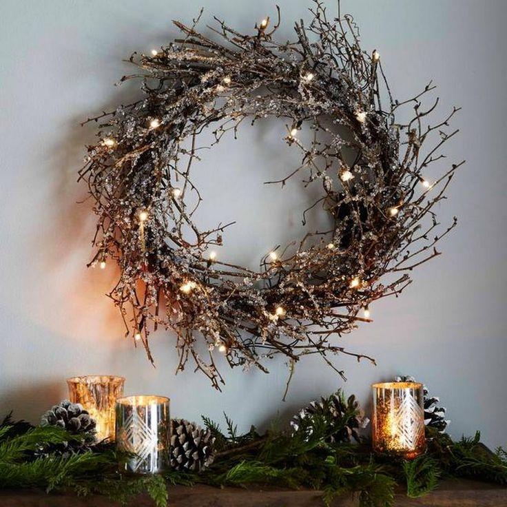 25 Best Ideas About Twig Wreath On Pinterest Twig Art
