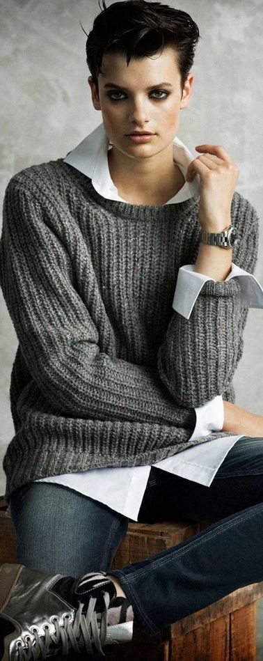 Best 25 Androgynous Fashion Women Ideas On Pinterest