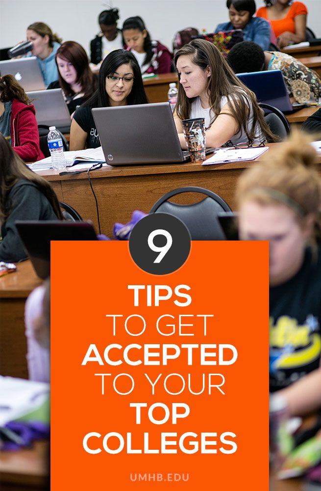 9 Tips to Get Accepted to Your Top Colleges #college #tips