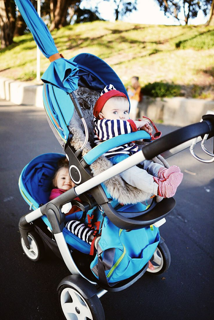Double the fun with Stokke Crusi via LivingNotesNYC