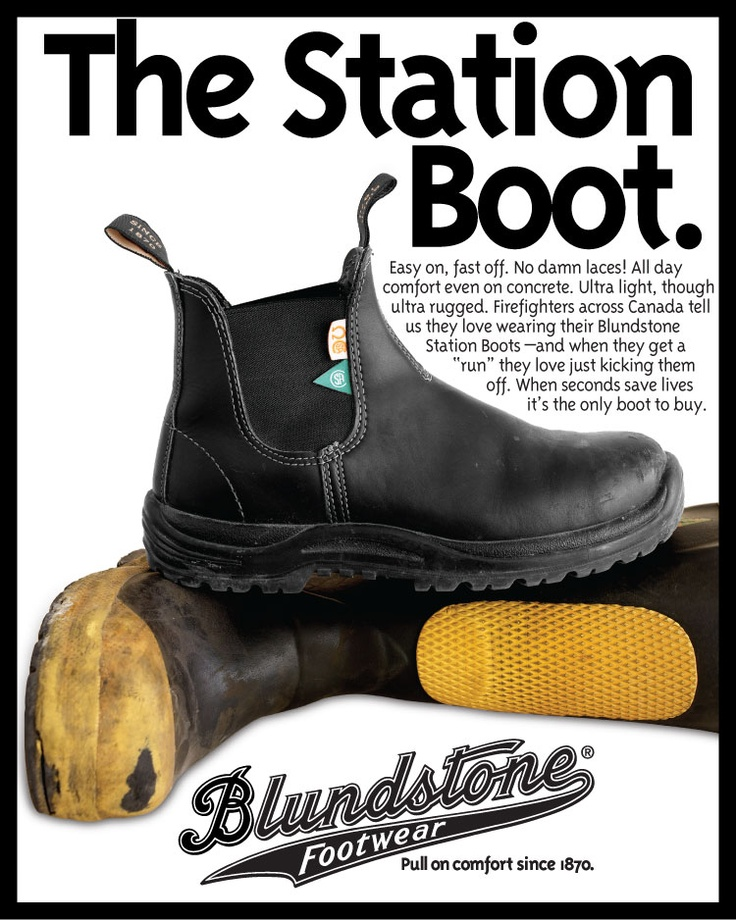 The Blundstone CSA Station Boot Nothing Beats Boots