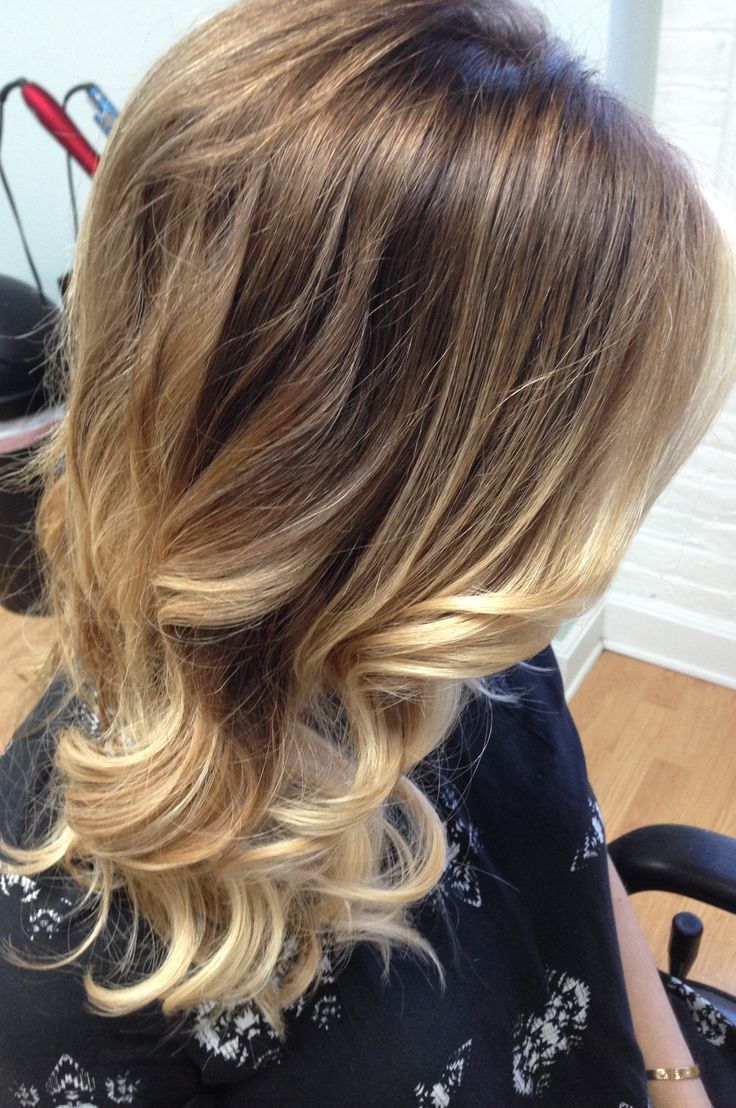 Soft Golden Blonde With Balayage Olaplex And Embee Meche