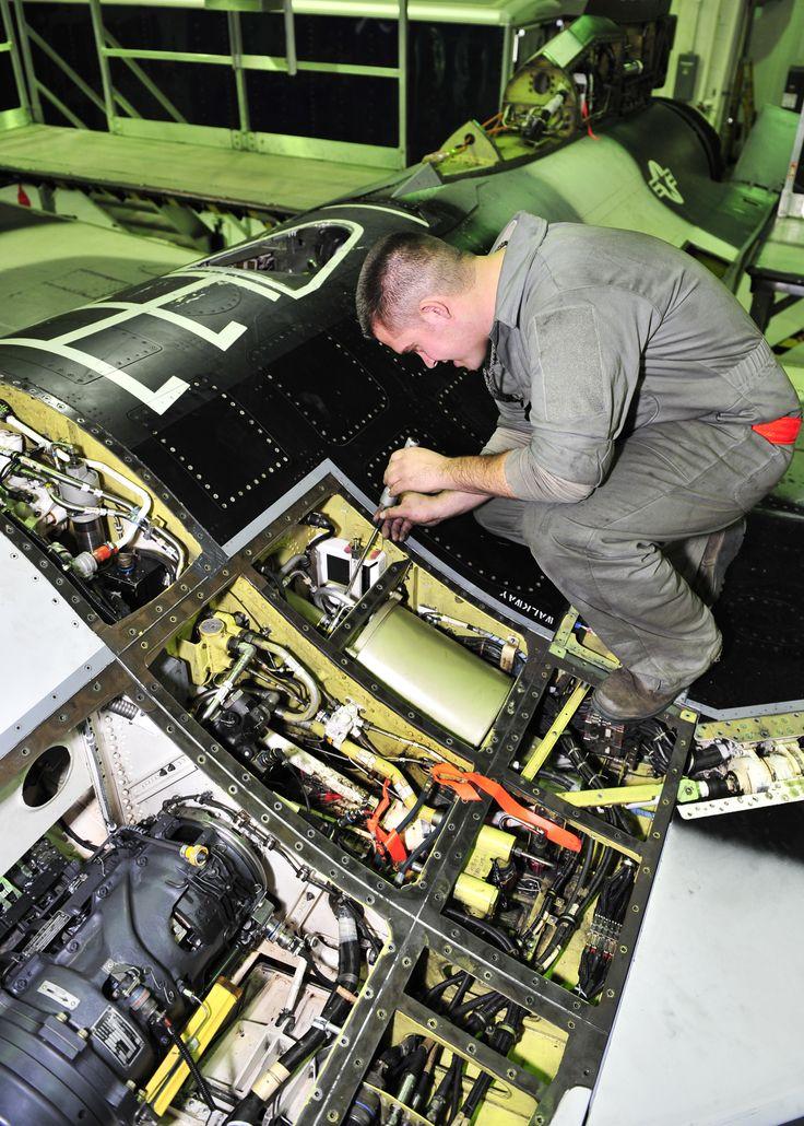 Staff Sgt. Dean Bloomberg, 354th Aircraft Maintenance