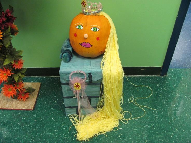 Pumpkin Parade Rapunzel Pumpkin Holidays Halloween