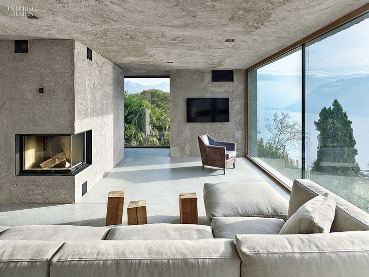17 Best Ideas About Concrete Interiors On Pinterest