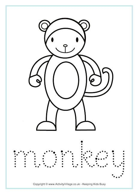Monkey Worksheets Worksheets Chinese Zodiac Animal