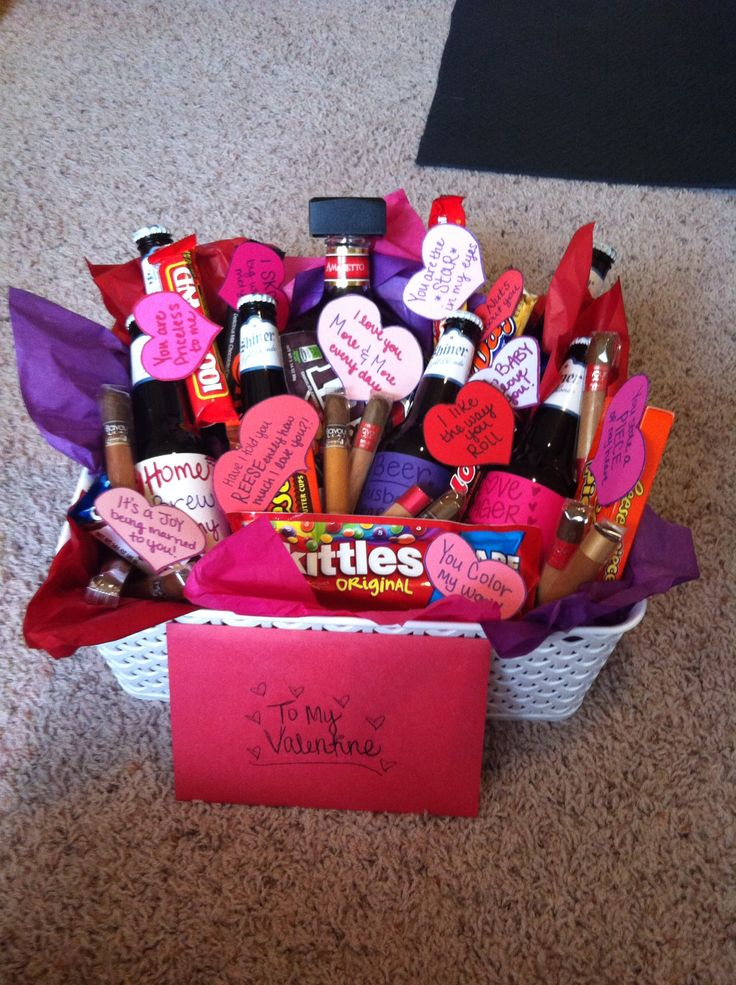 Valentines Day Care Package I Made For My Soldier Care