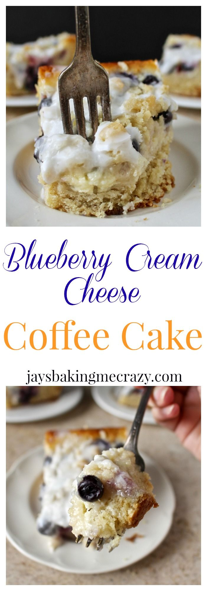 Blueberry Cream Cheese Coffee Cake Recipe Cakes, Cream
