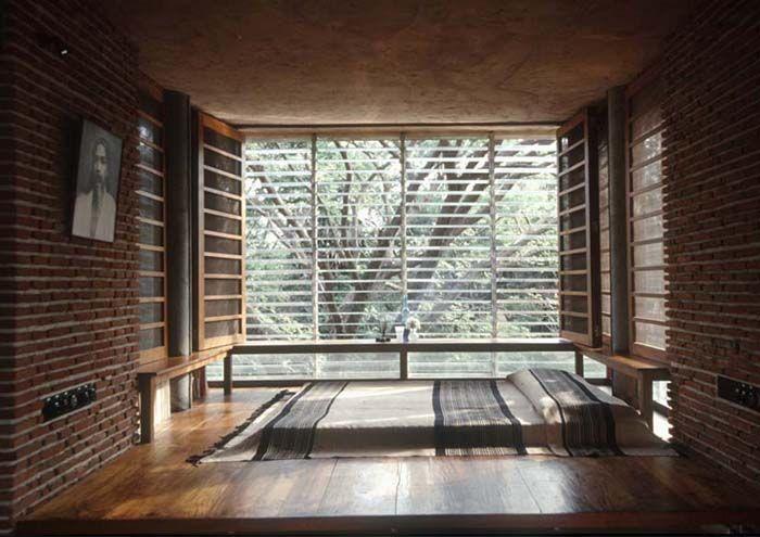 Anupama Kundoo Architect Wall House India Architecture