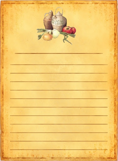 318 Best Recipe Scrapbooking Printables And Blank Recipe